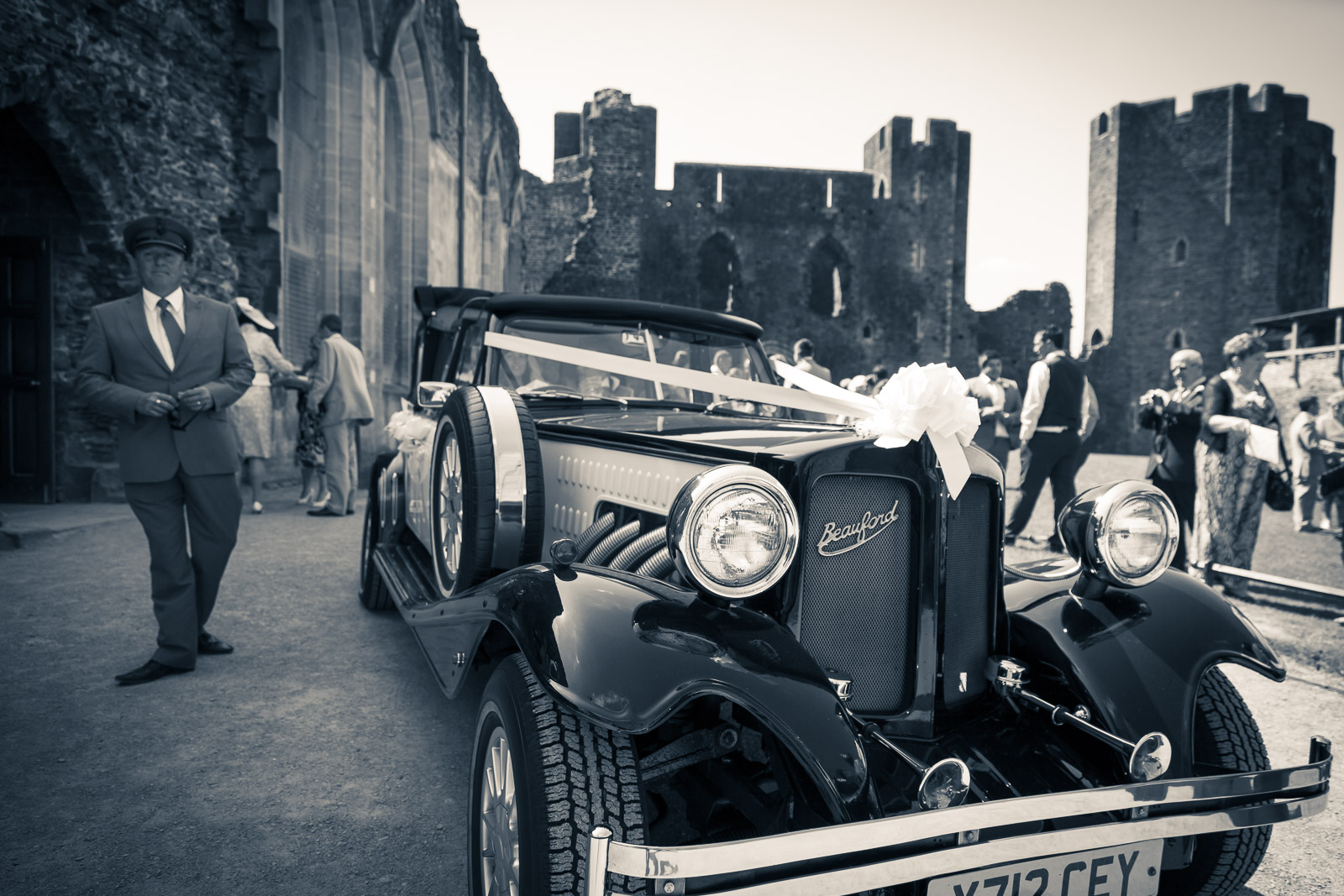 South Wales Wedding at Caerphilly Castle