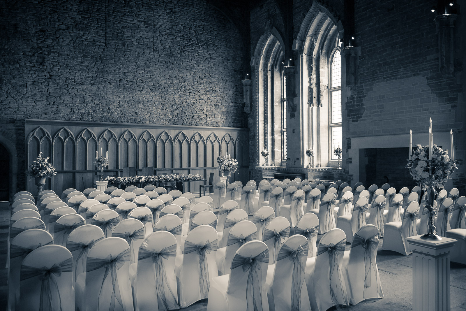 South Wales Wedding at the Great Hall, Caerphilly Castle